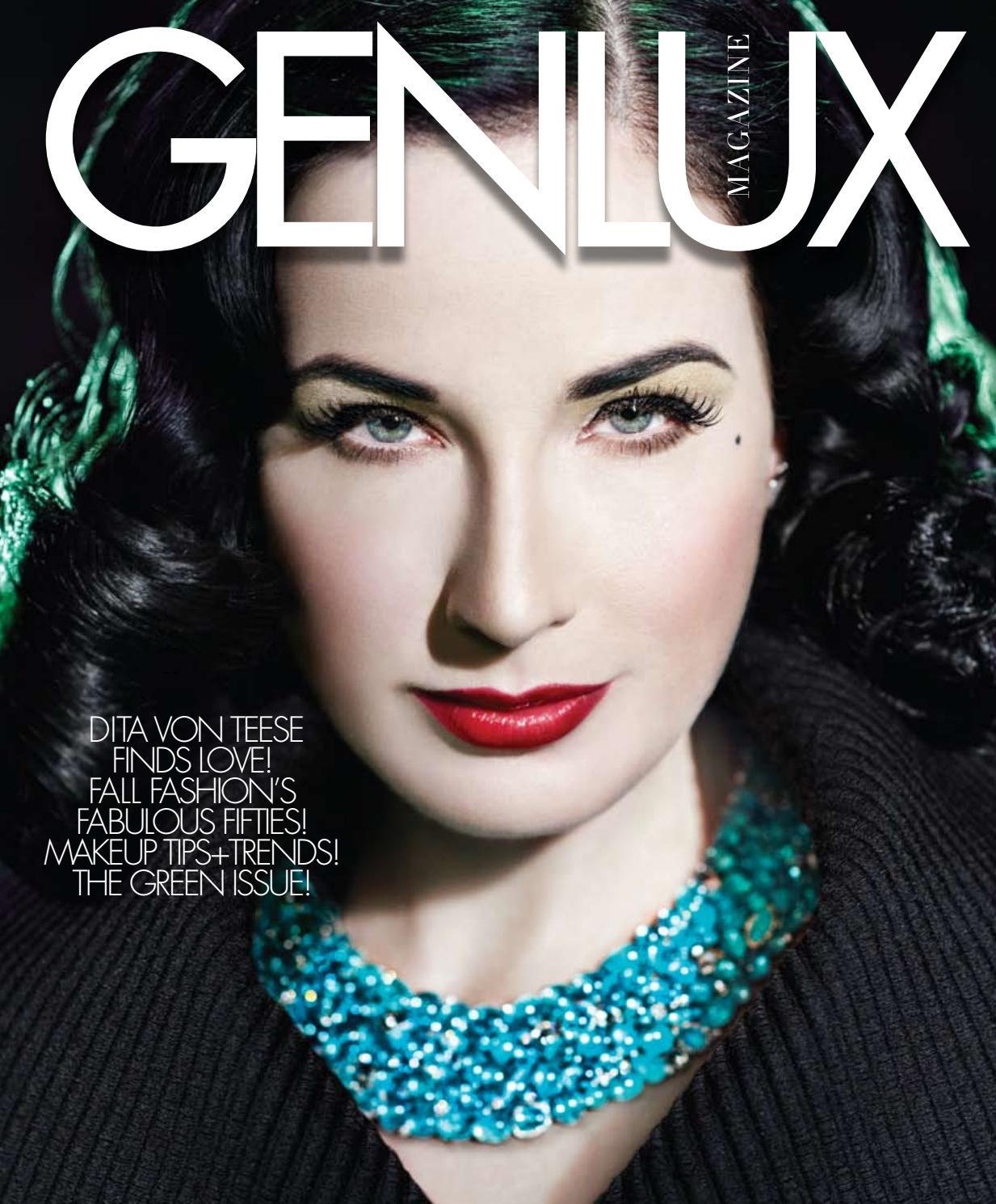 GENLUX - DITA VON TEESE by GENLUX - issuu 914614b61d400