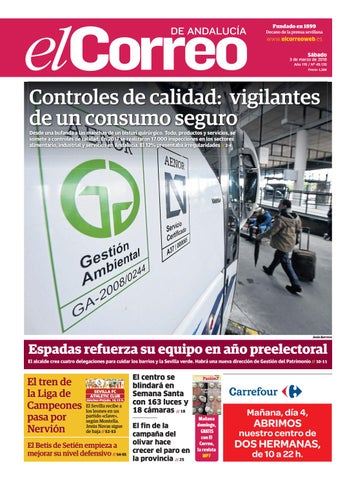 7919d672b 03.03.2018 El Correo de Andalucía by EL CORREO DE ANDALUCÍA S.L. - issuu