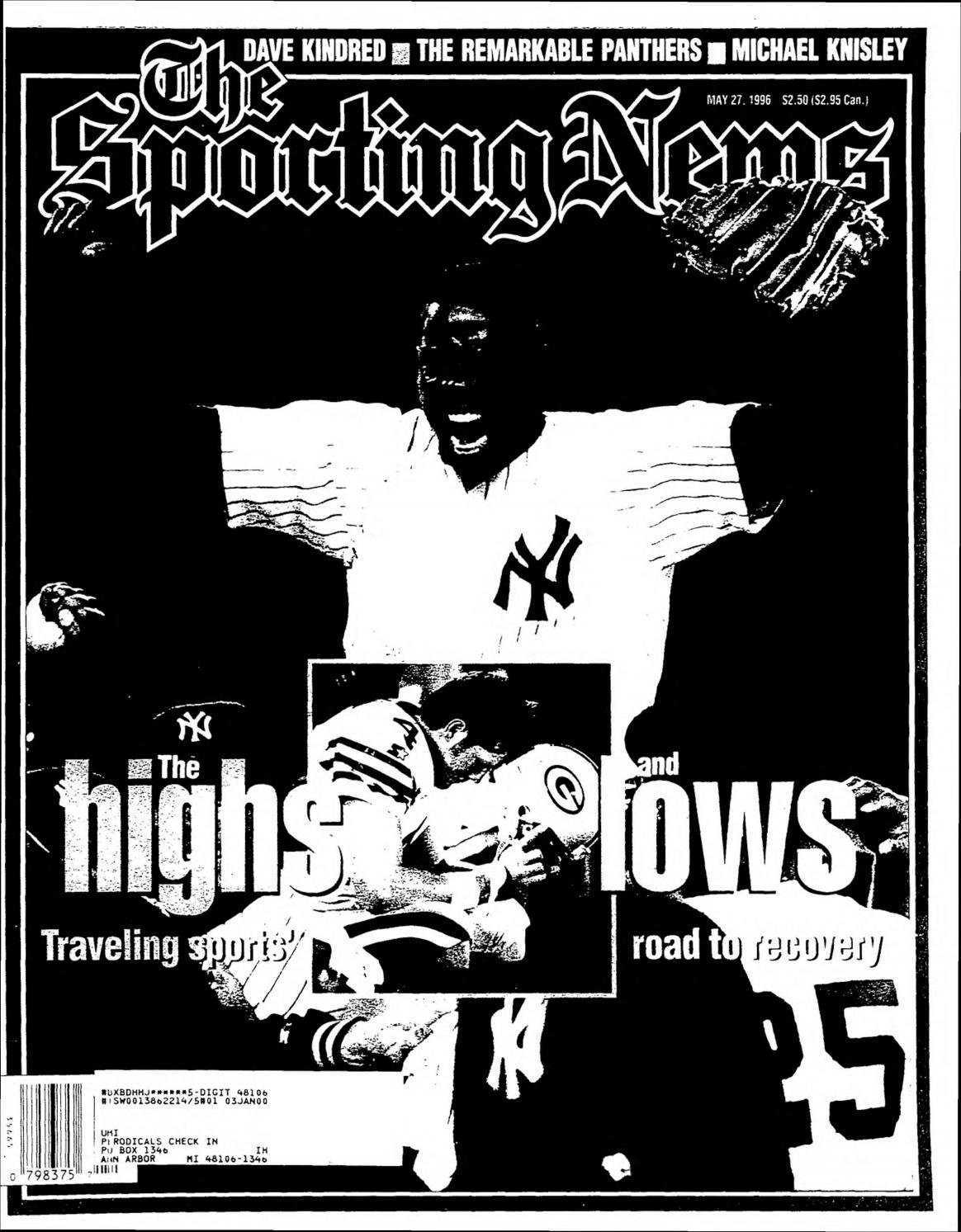 The sporting news 05 27 1996 by Mexico Sports Collectibles