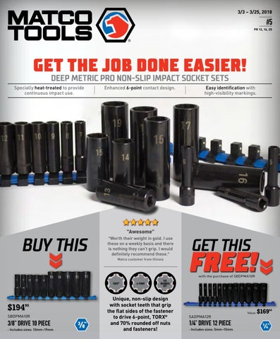 Matco Tools Flyer #5 by Dean Austin - issuu