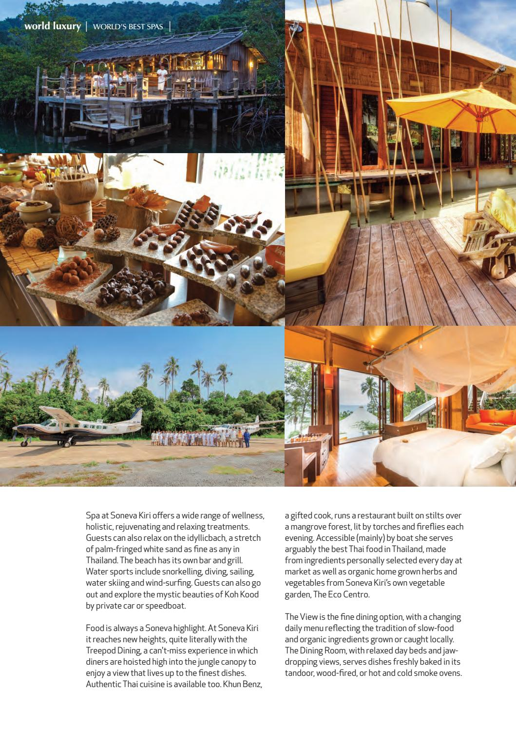 Best In Travel Magazine Issue 47 // 2018 // Discover Luxury Spas