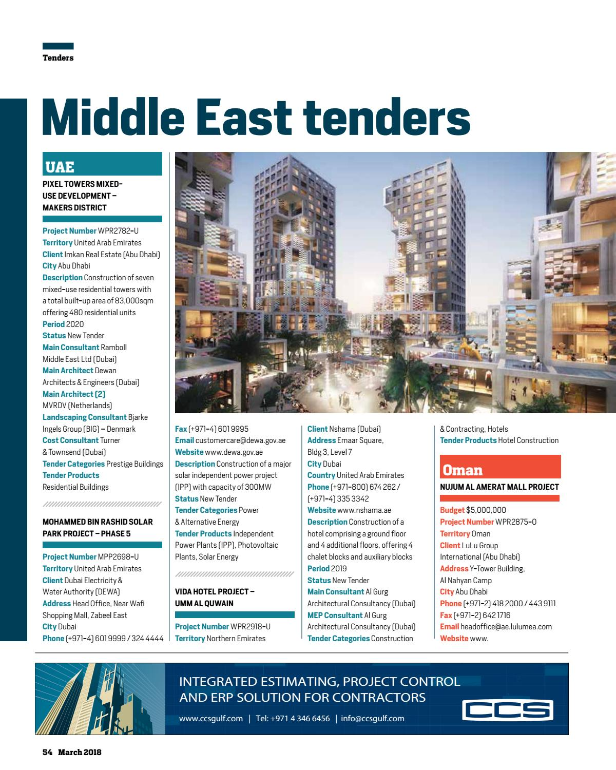 Big Project ME March 2018 by Big Project Middle East - issuu