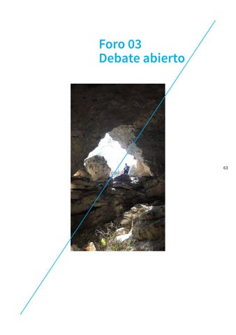 Page 63 of Foro 03: Debate abierto