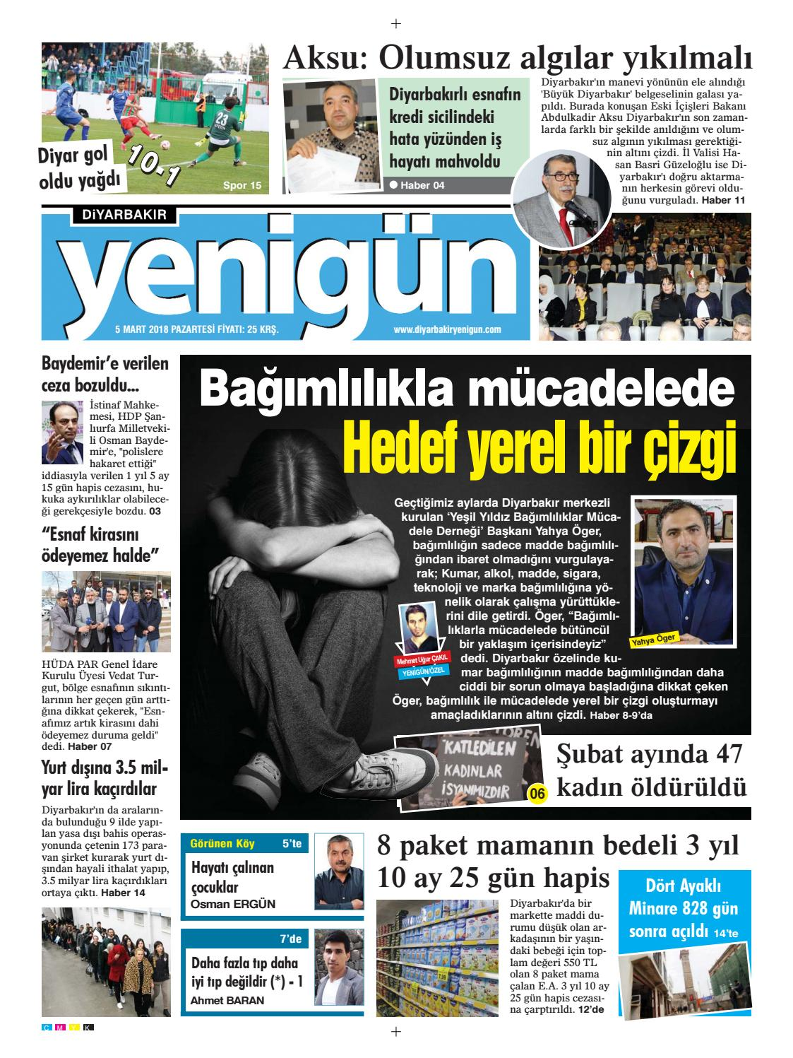 05 Mart 2018 Pazartesi By Osman Ergun Issuu