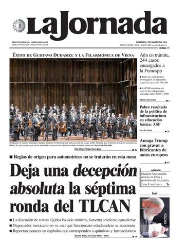 La Jornada, 03/04/2018