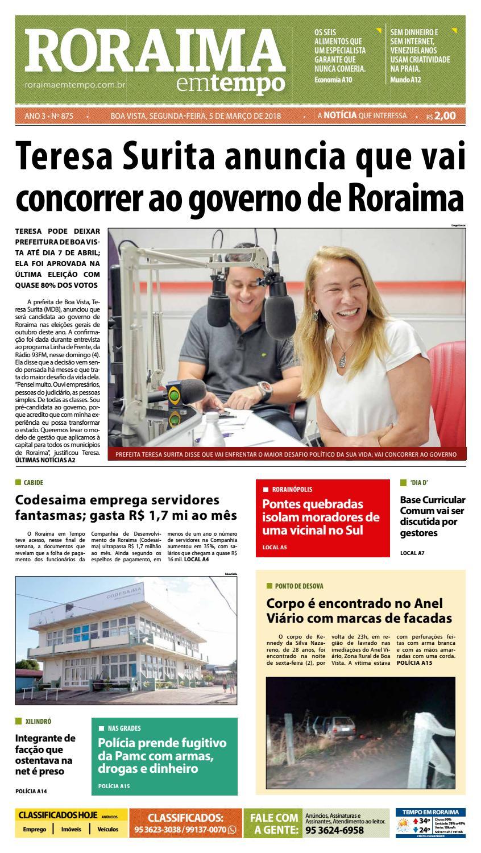 Jornal roraima em tempo – edição 875 by RoraimaEmTempo - issuu 3723f024f5043