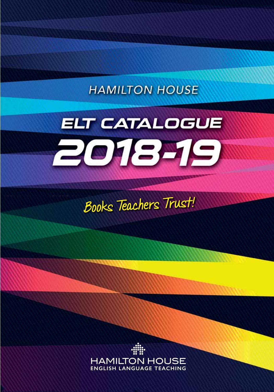 Hamilton house international catalogue 2018