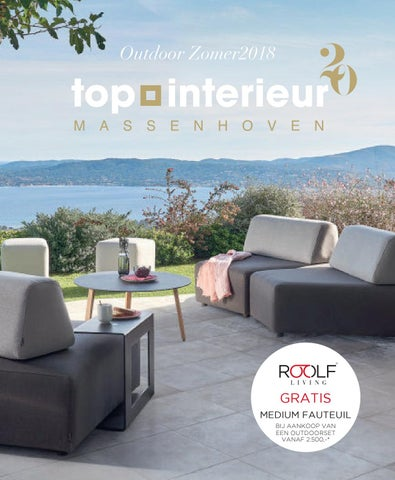 Top Interieur outdoor brochure 2018 by Topinterieur - issuu