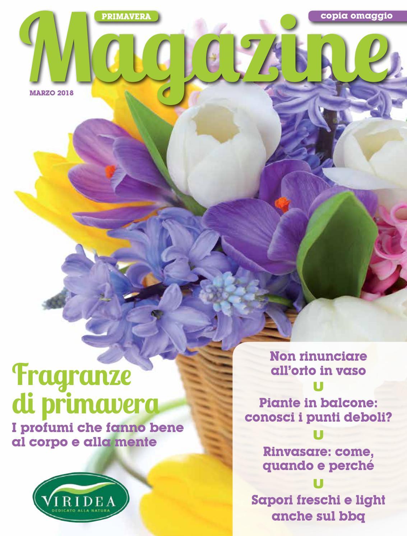 Clematis Resistenti Al Freddo magazine primavera | 01 | marzo 2018 by viridea società