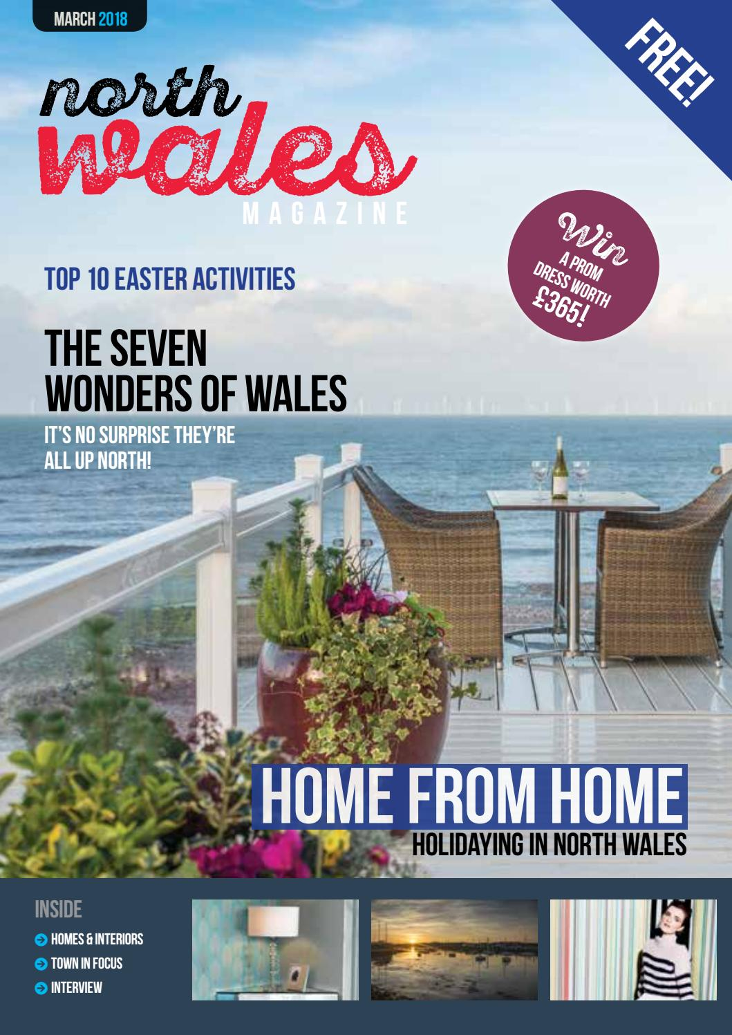 794ad88c9168 North Wales Magazine – March 2018 by North Wales Magazine - issuu