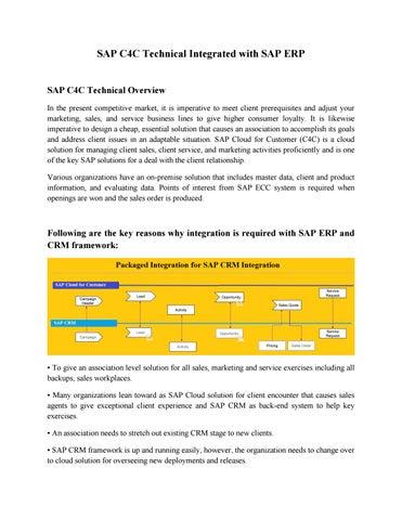 Study pdf material crm sap
