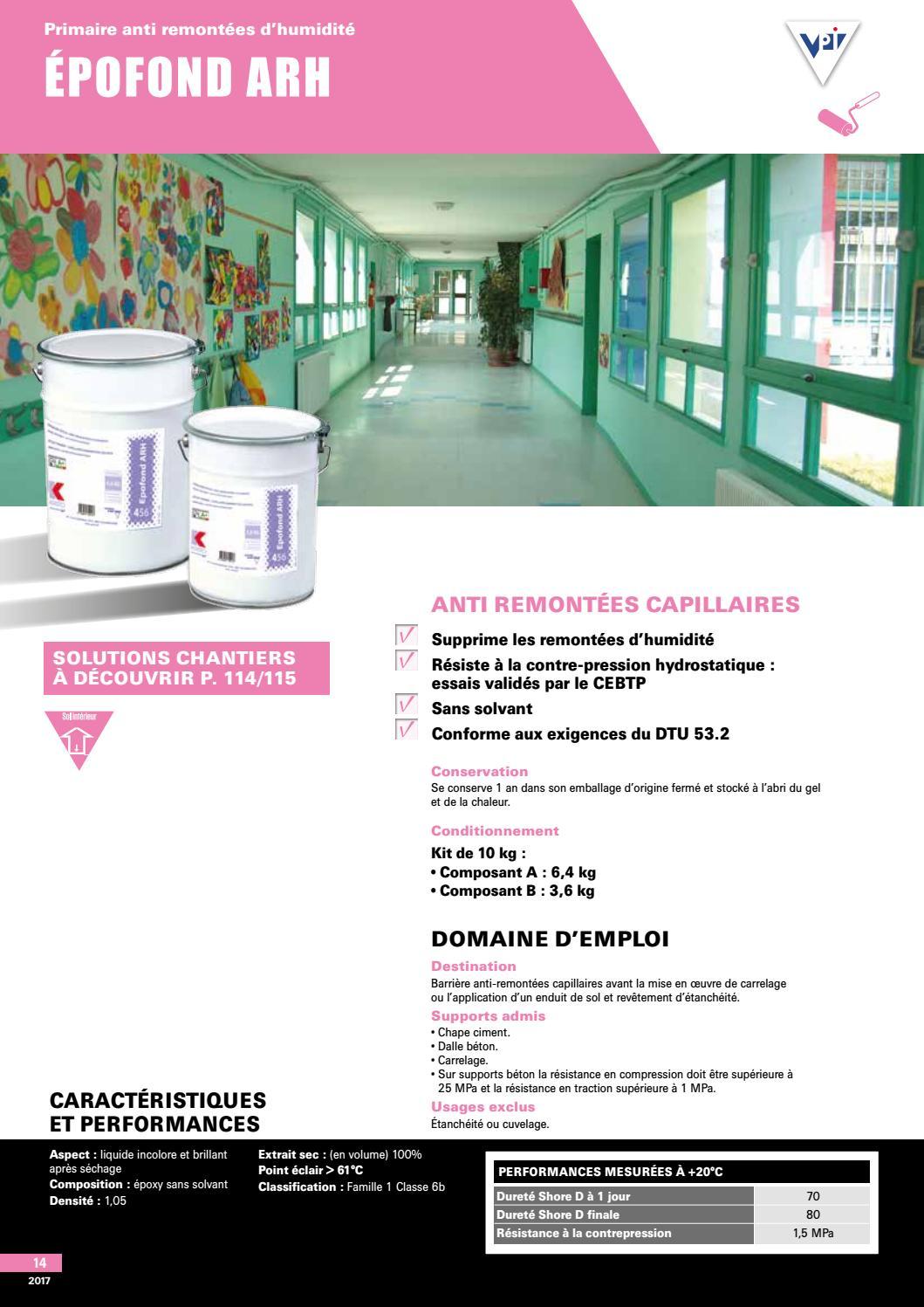 Humidite Qui Remonte Par Le Carrelage ft-epofond-arh2017bigmatfrance - issuu