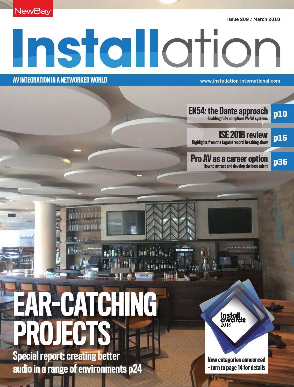 Installation March 2018 Digital Edition by Future PLC - issuu