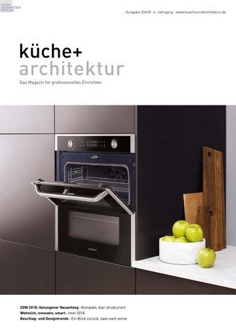 Küche + Architektur 1/2018 By Fachschriften Verlag   Issuu