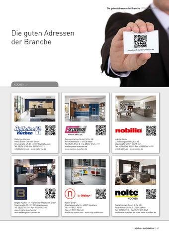 Küche Architektur 1 2018 By Fachschriften Verlag Issuu