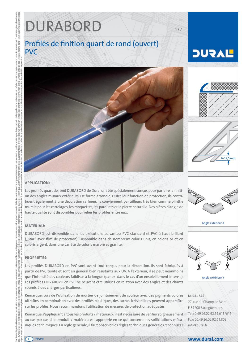 Poser Un Quart De Rond Carrelage f-durabord-pvc-profiles-de-finition-qut-de-rond