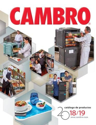 Cocina cambro catálogo general 2018 by Servitel - issuu e32bc20ce033