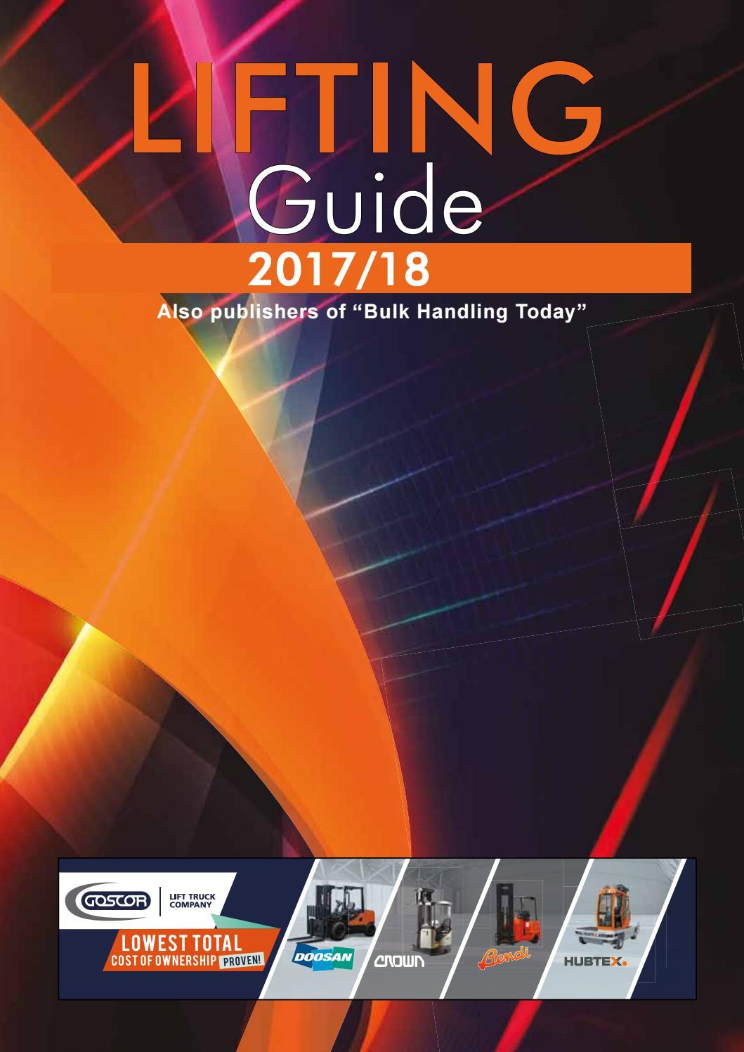 Bulk lifting guide 2017 by Promech Publishing - issuu