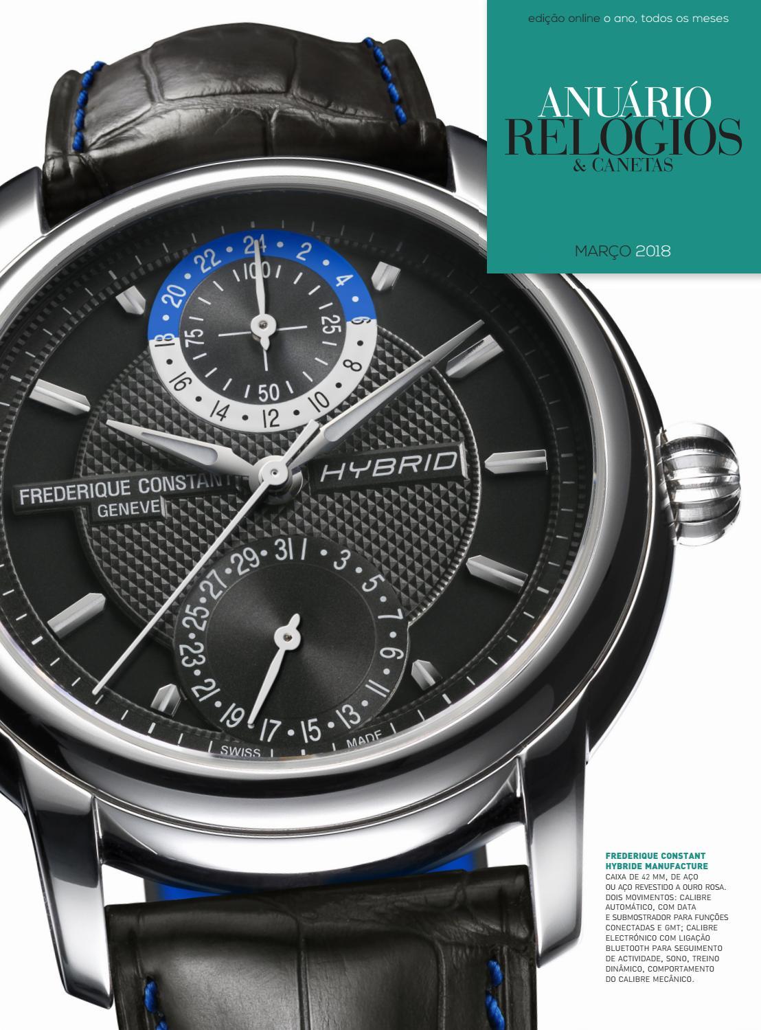 8a170d0eece Anuário Relógios   Canetas - Março 2018 by Anuário Relógios   Canetas -  issuu