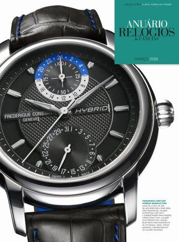 fd0903f2ca4 Anuário Relógios   Canetas - Março 2018 by Anuário Relógios ...
