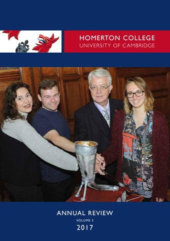 Homerton College Annual Review Volume 3 By Homerton College Issuu