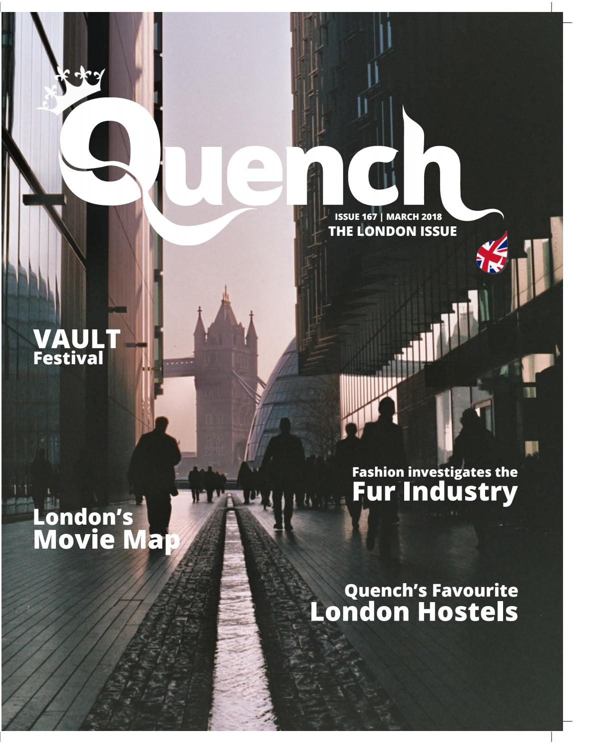 b9ab09096e0 Quench Issue 167 LONDON EDITION - November 2018 by Cardiff Student ...