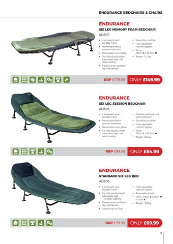 Page 11 of Advanta Endurance Bedchairs & Chairs