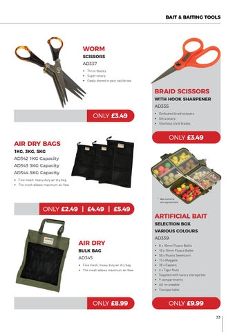 Page 33 of Advanta Bait & Baiting Tools