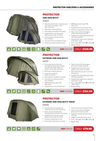 Page 5 of Advanta Protector Shelters & Accessories