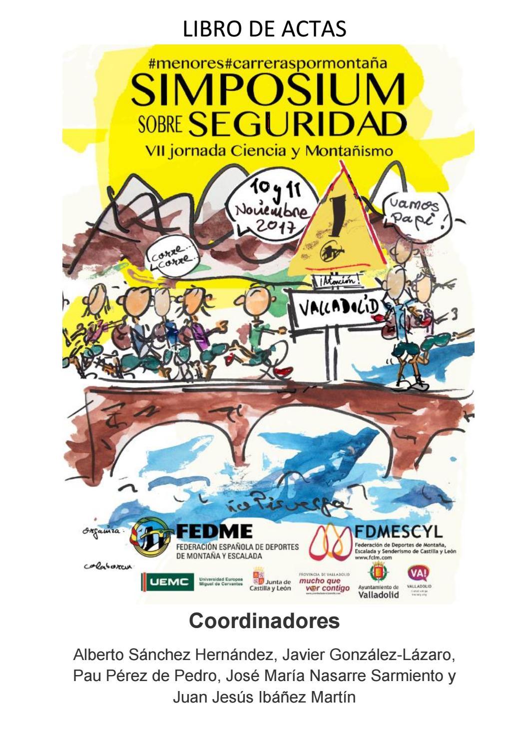 Simposium sobre Seguridad en deportes de montaña by FEDME - issuu b628199c839