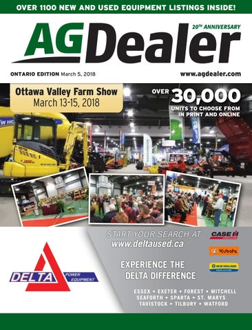 AGDealer ALL Ontario Edition, March 5, 2018 by Farm Business ... on