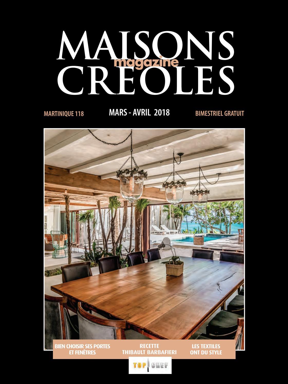 Magazine Maisons Créoles N°118 Martinique by Maisons Creoles - issuu 8bd9f1ef775