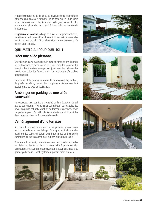 Graviers Pour Allées Carrossables magazine maisons créoles n°118 martiniquemagazine