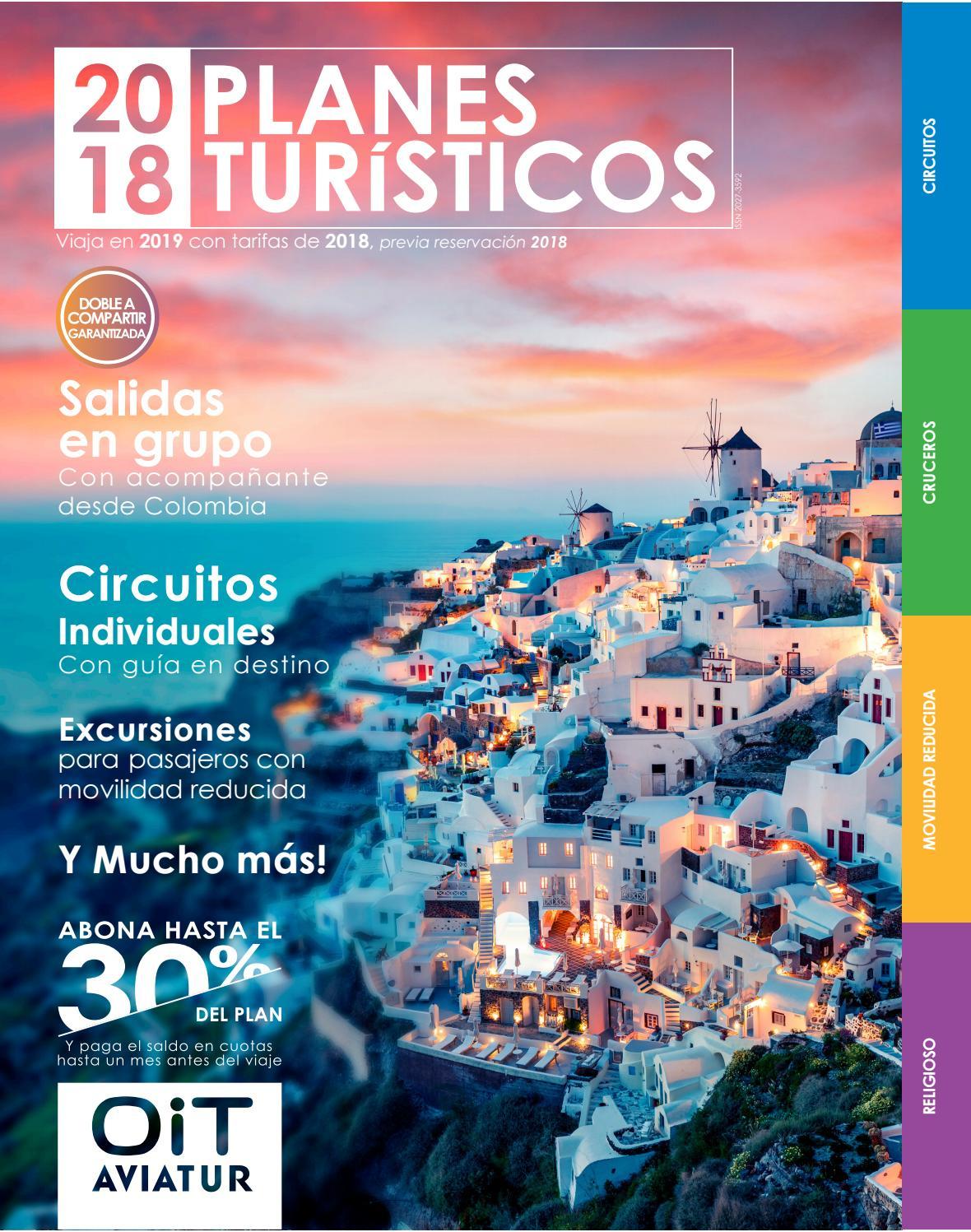 85babe07bc Planes Turísticos OIT 2018 by Agencia OIT - issuu