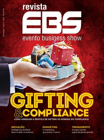 Revista ebs 18 edio gifting compliance by grupo eventofacil page 1 fandeluxe Images