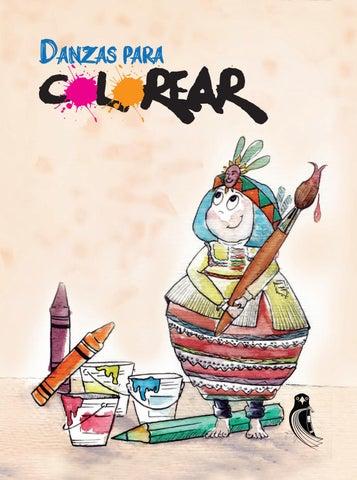 Libro Infantil Danzas Para Colorear By Casa Municipal De