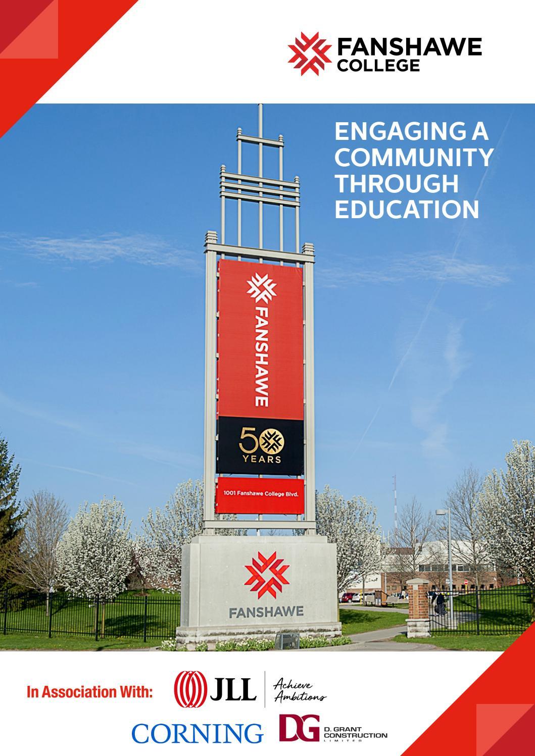 Brochure Fanshawe College By Business Chief Canada Issuu