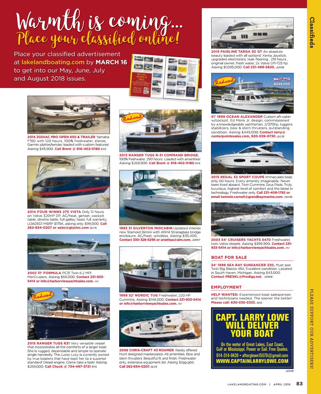 April 2018 by Lakeland Boating Magazine - issuu
