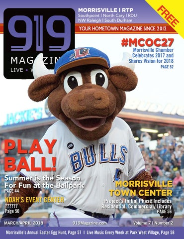 919 Magazine March April 2018 Morrisville, RTP, West Cary