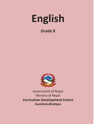 Rs825 final tb grade 8 english by Ritesh Shrestha - issuu