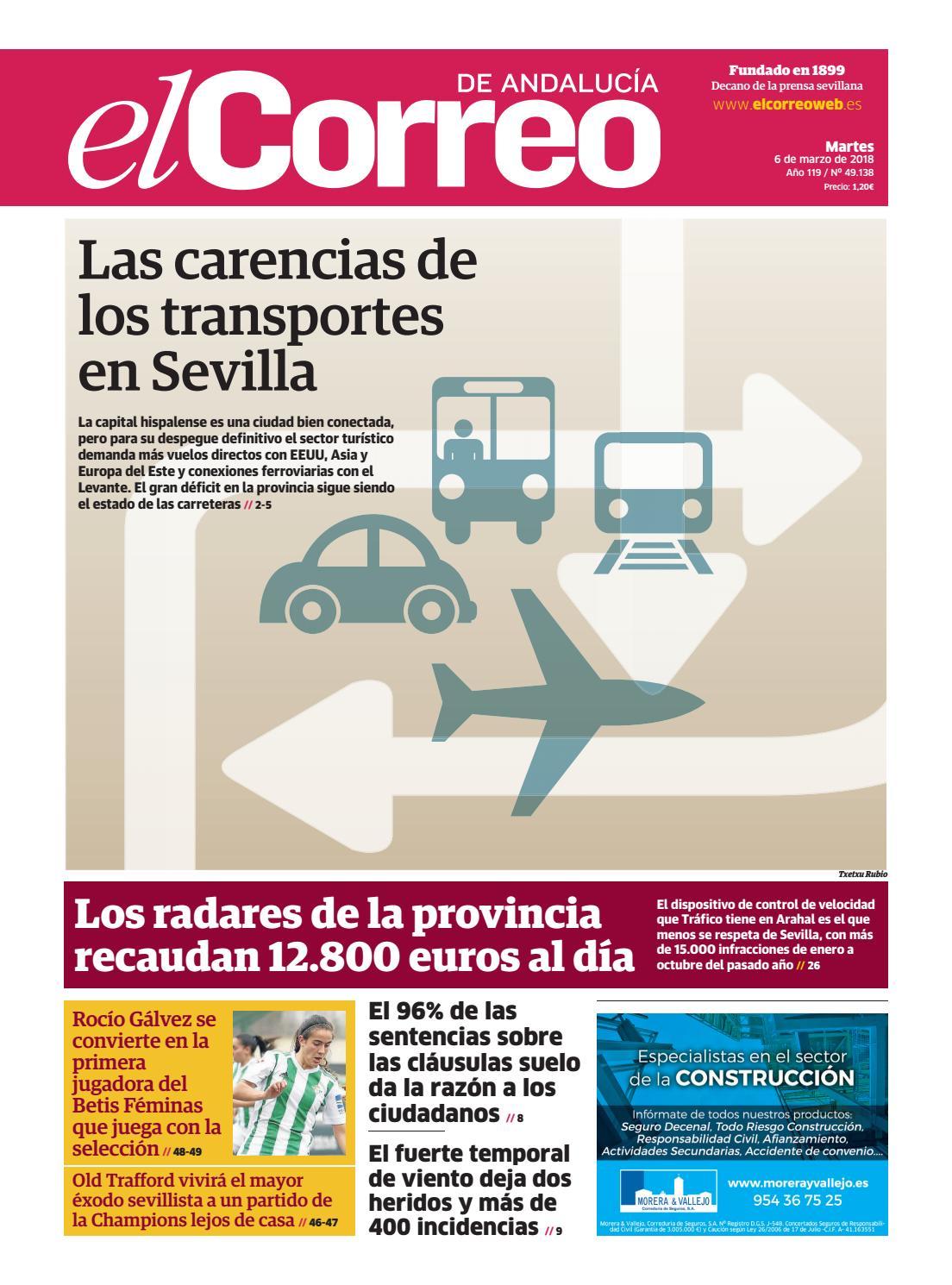 06.03.2018 El Correo de Andalucía by EL CORREO DE ANDALUCÍA S.L. ...