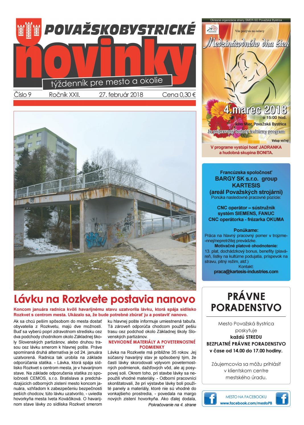 0791c9548 Považskobystrické novinky č. 9/2018 by Považskobystrické novinky - issuu