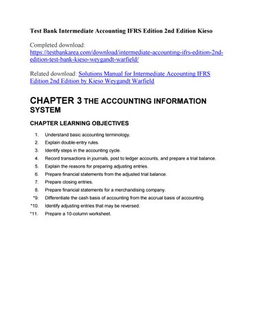 intermediate accounting ifrs 2nd edition solutions manual chapter 22