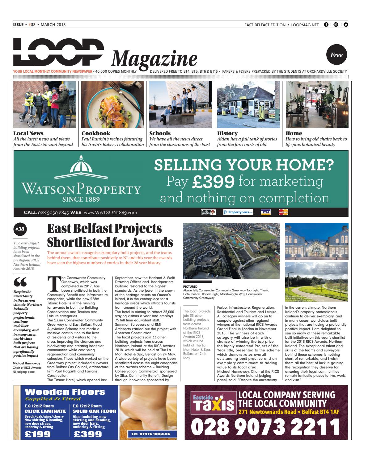 ee47f32c6e6b2 Loop Mag : East Belfast March 2018 by Loop Publications - issuu