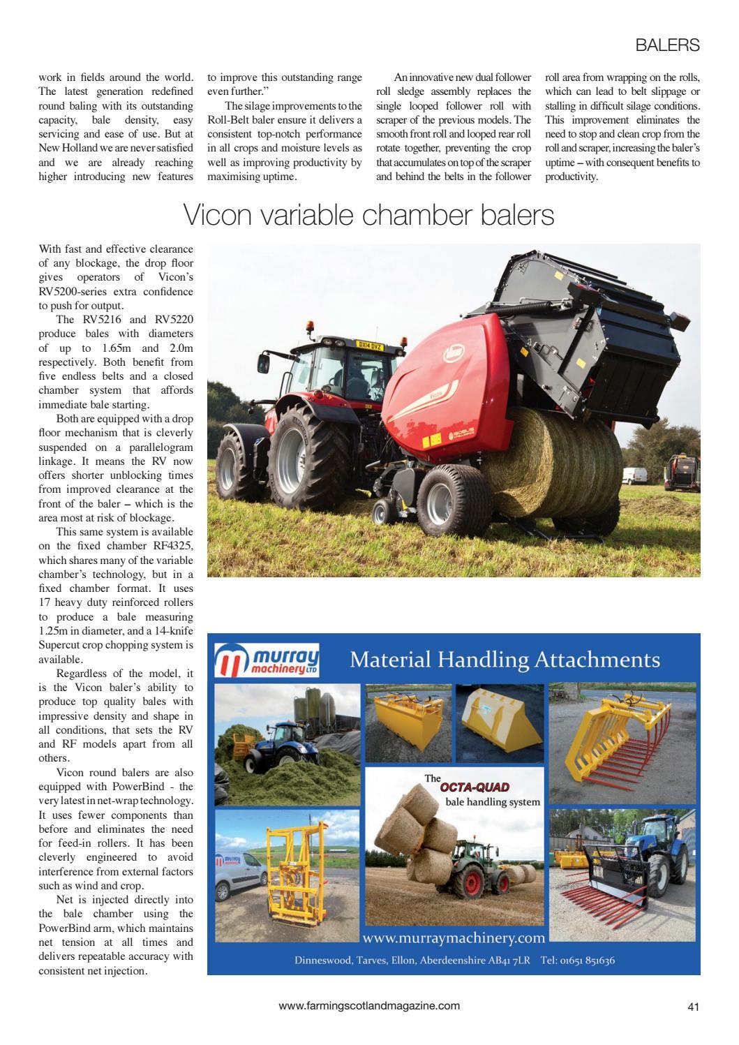 Farming Scotland Magazine (March - April 2018) by Athole Design