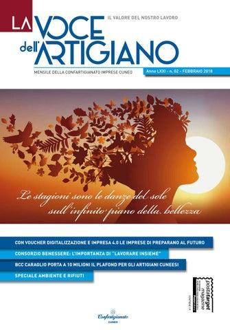e339d13c0a60 La Voce dell'Artigiano - Febbraio 2018 by Confartigianato Cuneo - issuu