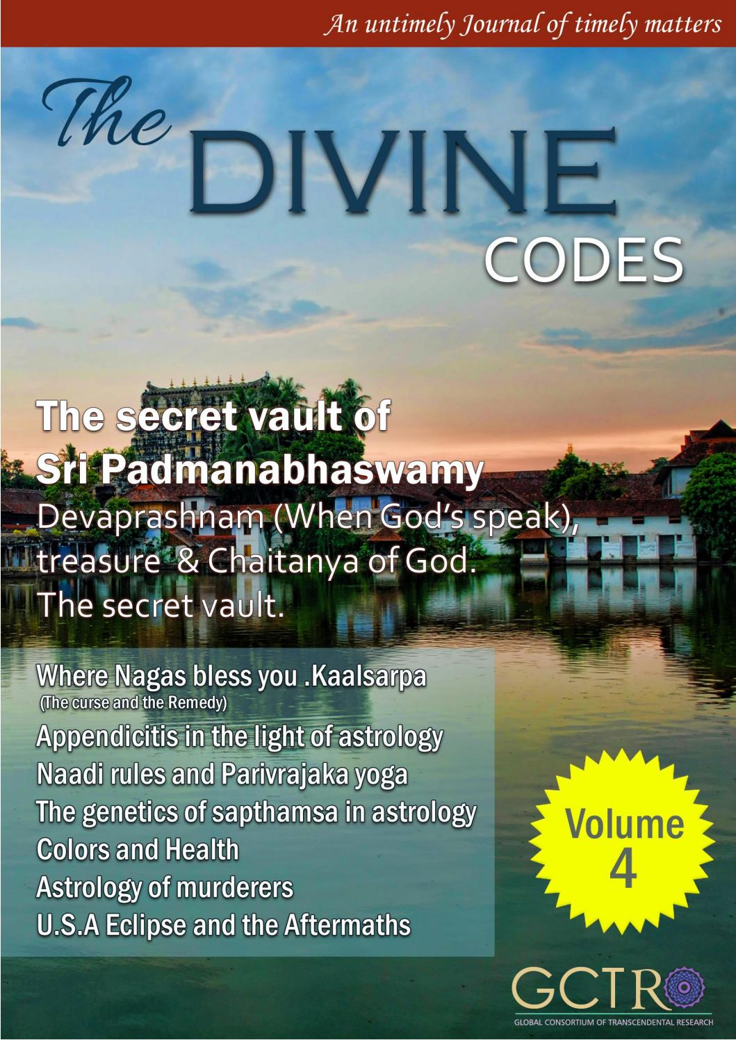The divine codes   Volume 4  issue 1 by The Vedicsiddhanta