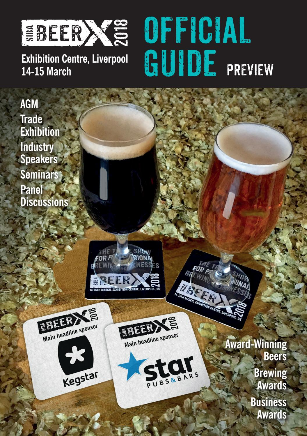 b3226f550e3c Beerx 2018 official guide (1) by SIBA, the Society of Independent ...