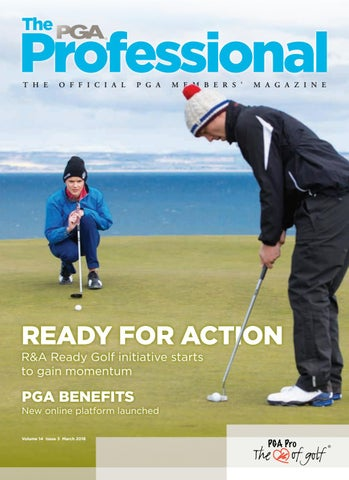 9f1e1693 PGA Member's Magazine March 2018 by The PGA - issuu