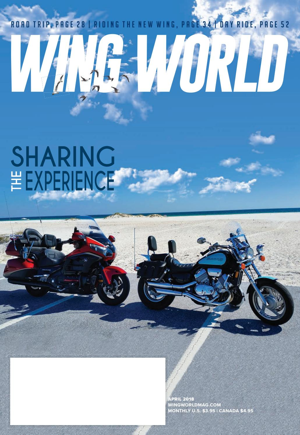 April 2018 By Gold Wing Road Riders Association Issuu 1800 Goldwing Trike Trailer Wiring Diagram